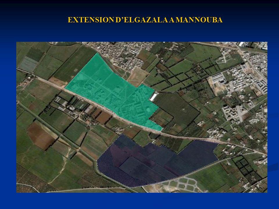 EXTENSION DELGAZALA A MANNOUBA