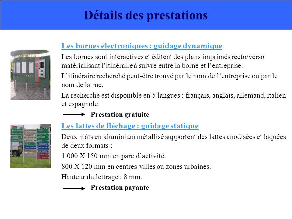 Les bornes électroniques : guidage dynamique Les bornes sont interactives et éditent des plans imprimés recto/verso matérialisant litinéraire à suivre