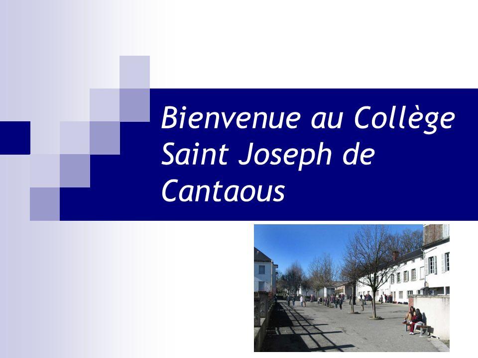 Bienvenue au Collège Saint Joseph de Cantaous