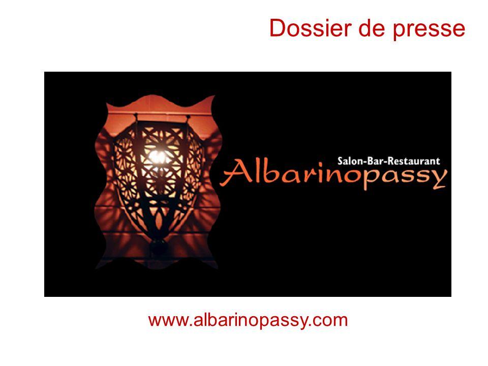 5 avril 2006 Pistes de réflexion Dossier de presse www.albarinopassy.com