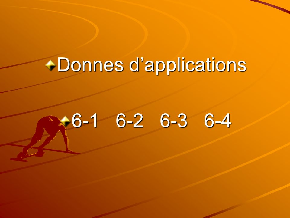 Donnes dapplications 6-1 6-2 6-3 6-4