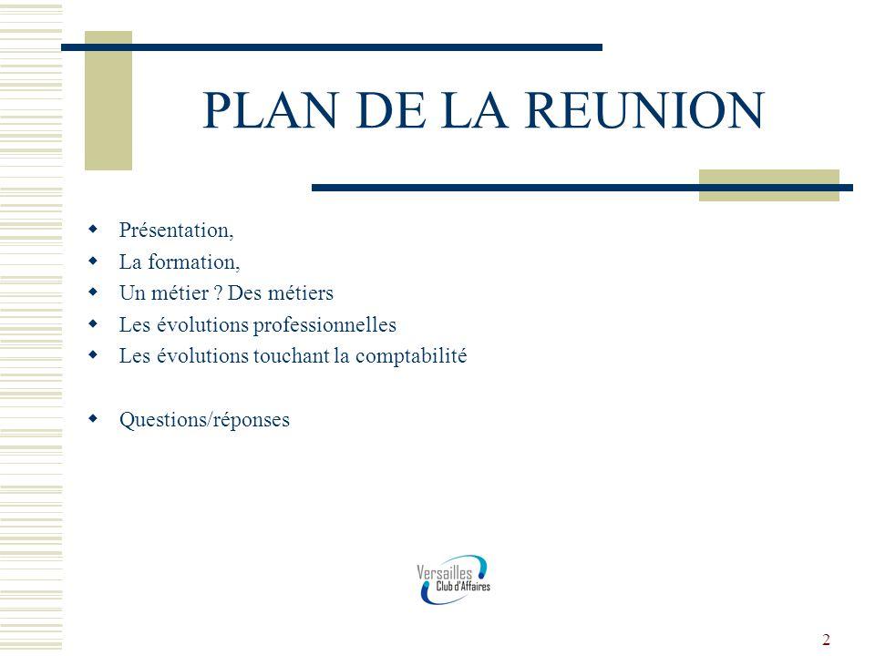 3 PRESENTATION Thierry TREPS, Expert comptable, Commissaire aux comptes, Trésorier de Versailles Club Affaires Diplomé BTS CGO (comptabilité gestion) à la suite dune formation au lycée Marie CURIE en 1992.