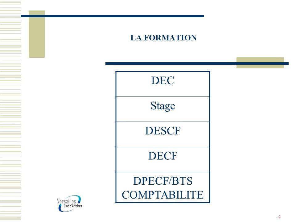 5 Un métier multiple Le métier dexpert comptable : En cabinet traditionnel, Dans un cabinet international, En entreprise.