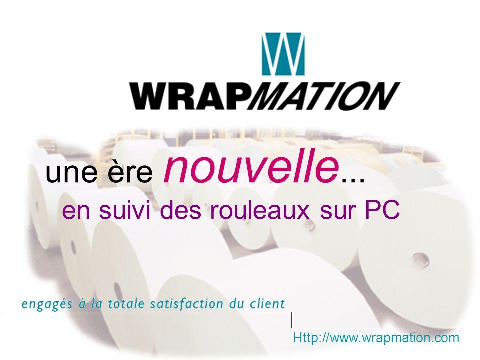 Http://www.wrapmation.com une ère nouvelle... en suivi des rouleaux sur PC