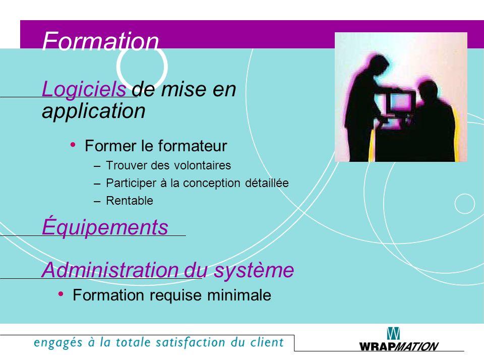 Innovations Accès par télécopieur TRAQ par Internet Accès sur le desktop Étiquettes WYSIWYG Boutons filtres Rédacteur de rapport DDE / OLE II Interrog