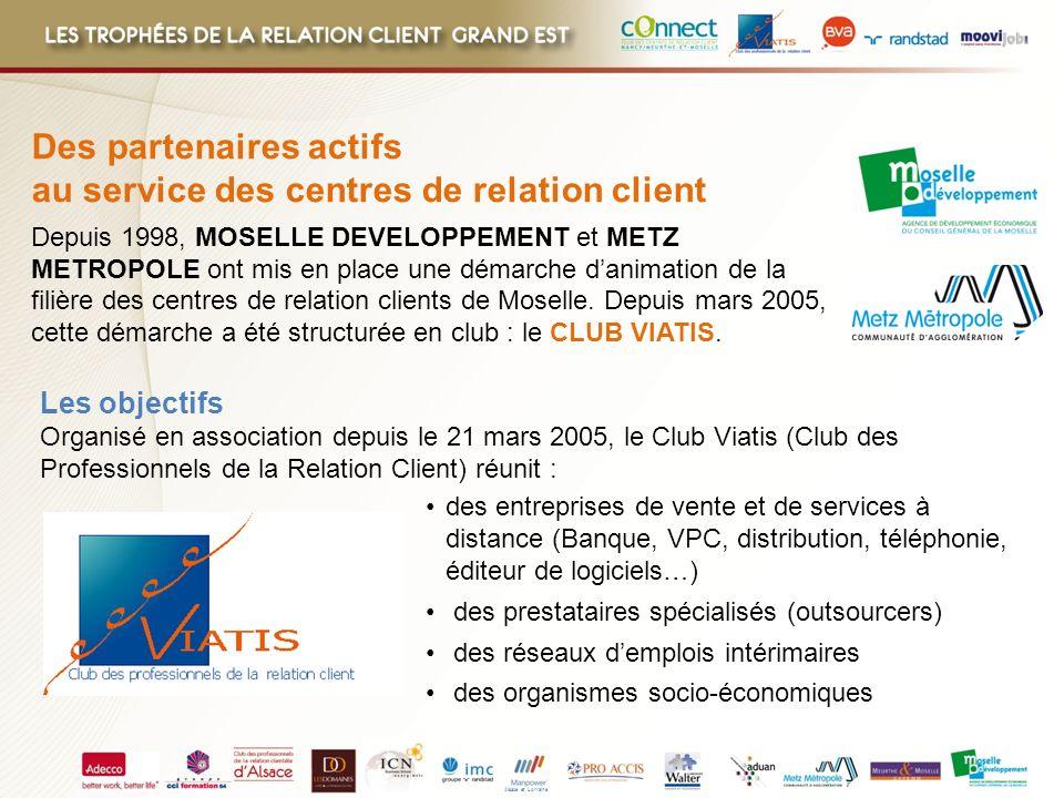 Alsace et Lorraine des entreprises de vente et de services à distance (Banque, VPC, distribution, téléphonie, éditeur de logiciels…) des prestataires