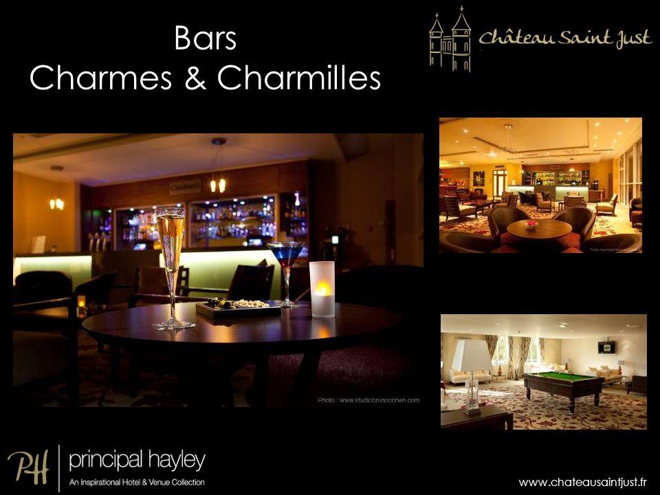 www.chateausaintjust.fr Bars Charmes & Charmilles
