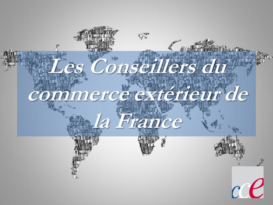 Les CCEF Des hommes et des femmes dentreprise ayant une compétence reconnue dans le domaine de l international.