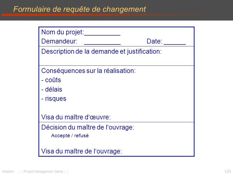 124 Simulation - Planification Objectif –mener votre projet à terme Livrable –projet réalisé –présentations au CoPil