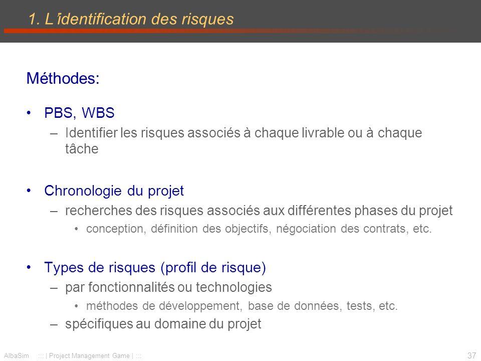 38 AlbaSim ::: | Project Management Game | ::: 1.