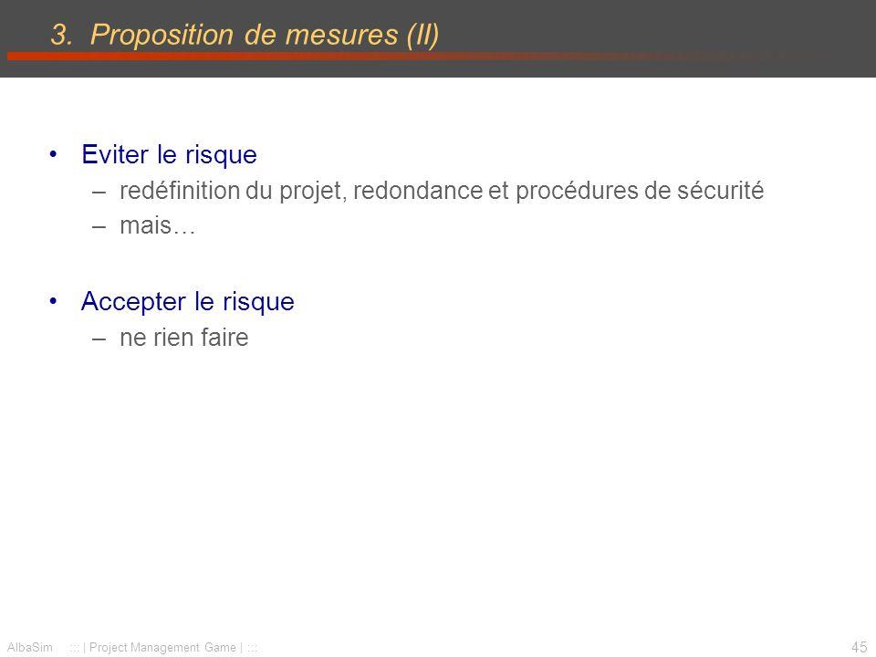 2.3 Proposition de projet