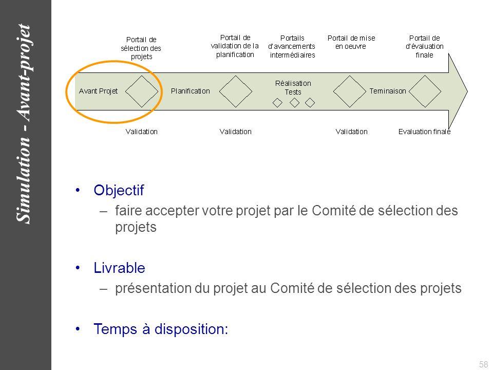 59 Simulation - Avant-projet www.AlbaSim.com
