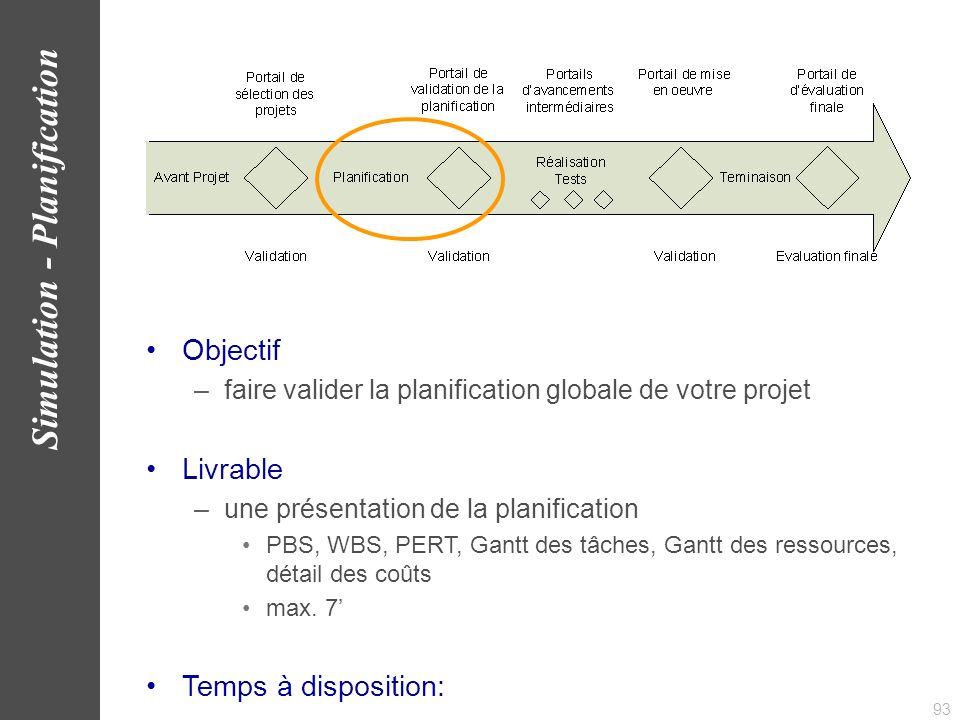 94 Simulation - Planification www.AlbaSim.com