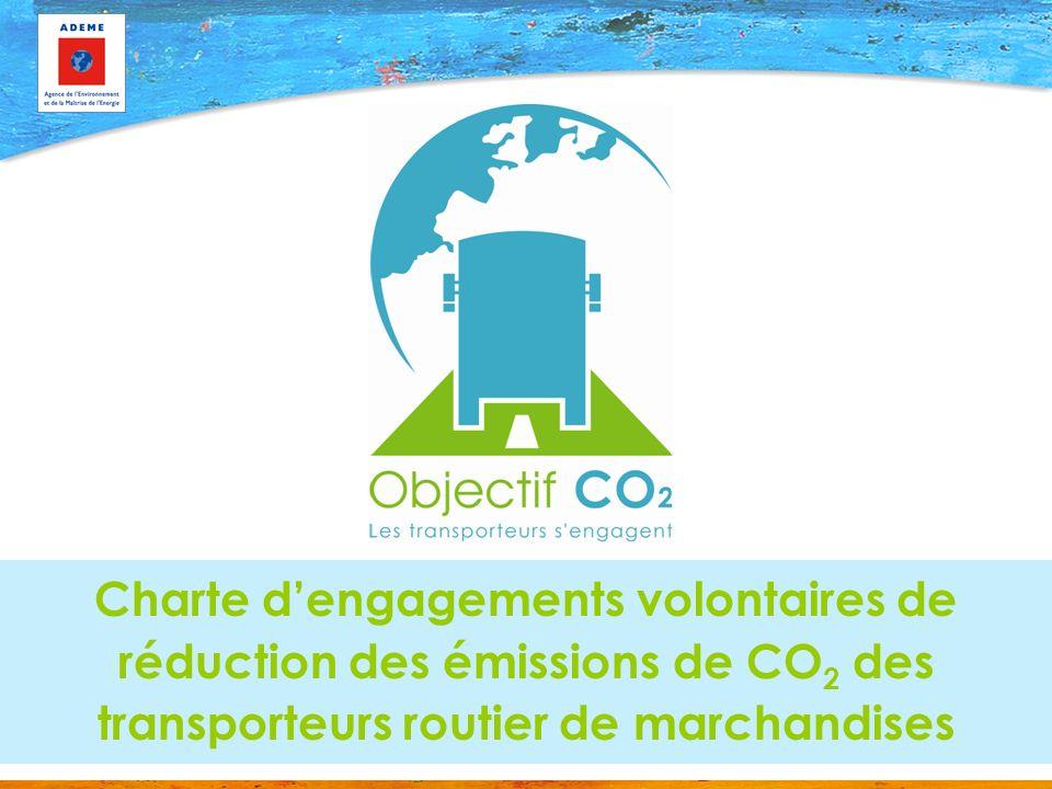 Charte dengagements volontaires de réduction des émissions de CO 2 des transporteurs routier de marchandises