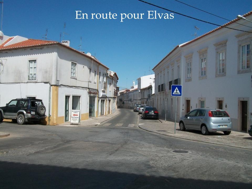En route pour Elvas