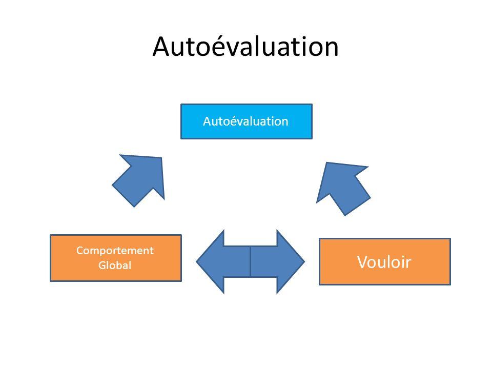 Autoévaluation Vouloir Comportement Global