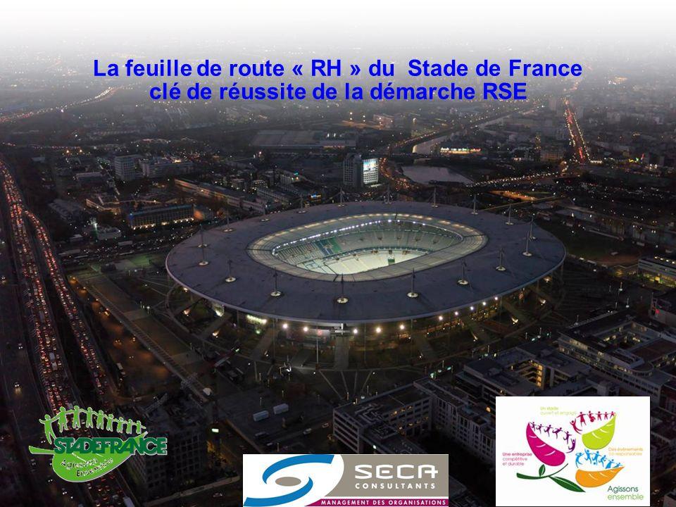 La feuille de route « RH » du Stade de France clé de réussite de la démarche RSE