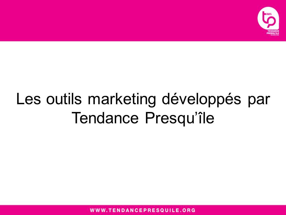 Les outils marketing développés par Tendance Presquîle