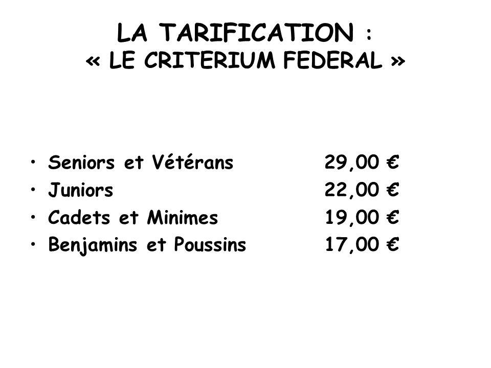 STATISTIQUES DES LICENCES