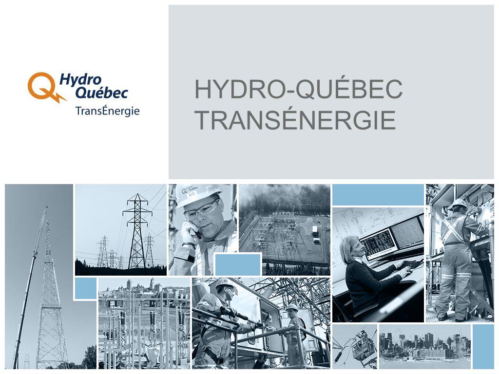 LE RÉSEAU DE TRANSPORT DHYDRO-QUÉBEC TRANSÉNERGIE POSTES DE DÉPART POSTES STRATÉGIQUES (735 ET 315 kV) POSTES SOURCES (315 À 69 kV) POSTES SATELLITES (315 À 44 kV) LIGNES RÉSEAUX VOISINS LE TRANSPORT D ÉLECTRICITÉ ILLUSTRÉ 1 13