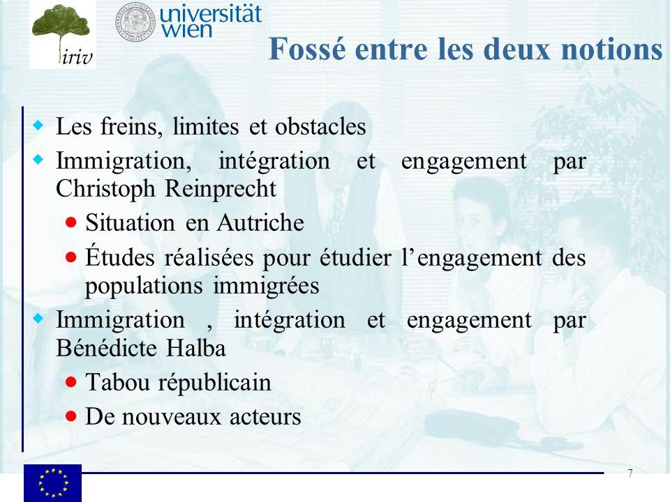8 Le projet Involve Le contexte : un projet européen 2005-6 Des séminaires européens pour favoriser les échanges : notion de réseau Une recherche-action : des rapports nationaux Des exemples de bonnes pratiques