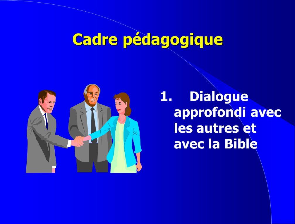 Buts de la formation 1. Explorer les principes divins pour aujourdhui et pour léternité 2.Développer une philosophie biblique de la vie 3.Accepter le