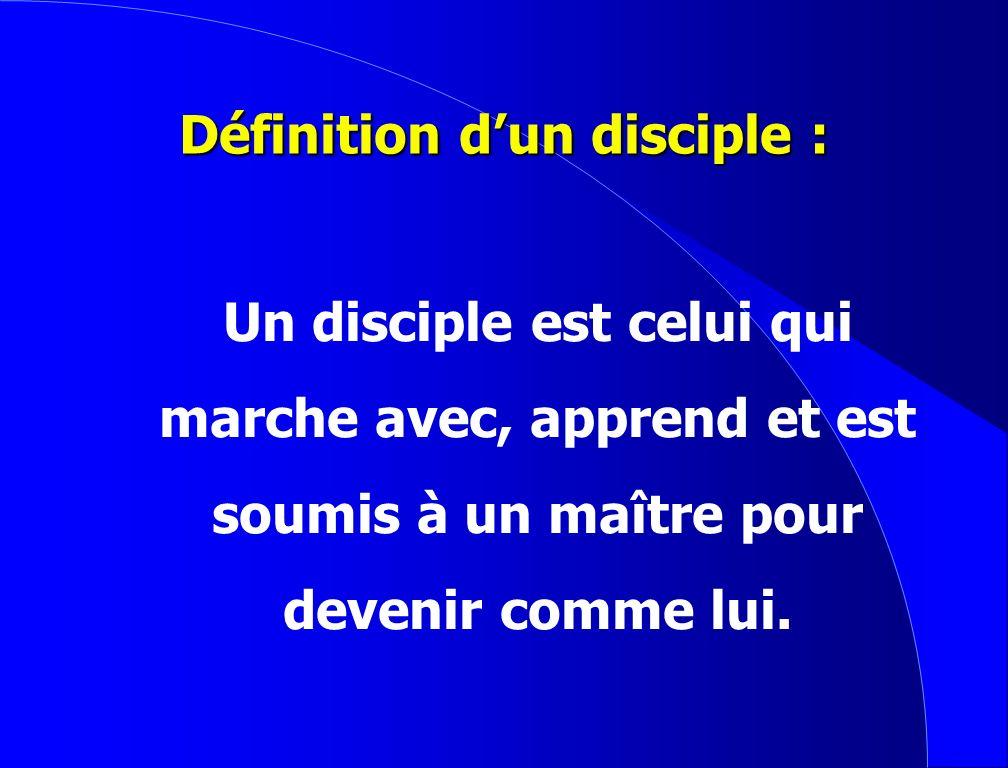 Des Disciples Dynamiques G.C.V.G.C.V.