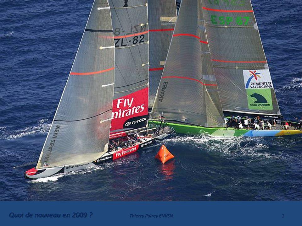 MAIS EXCEPTION LOGIQUE !.Entre des bateaux sur des bords opposés sur un louvoyage au vent.