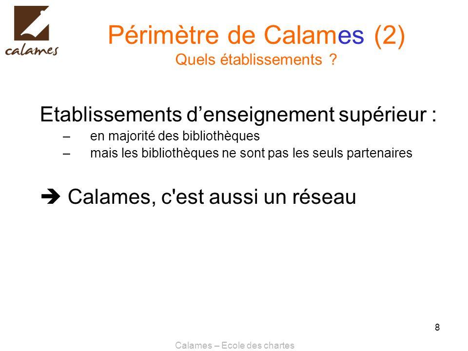 Calames – Ecole des chartes 9 Calames : pourquoi .