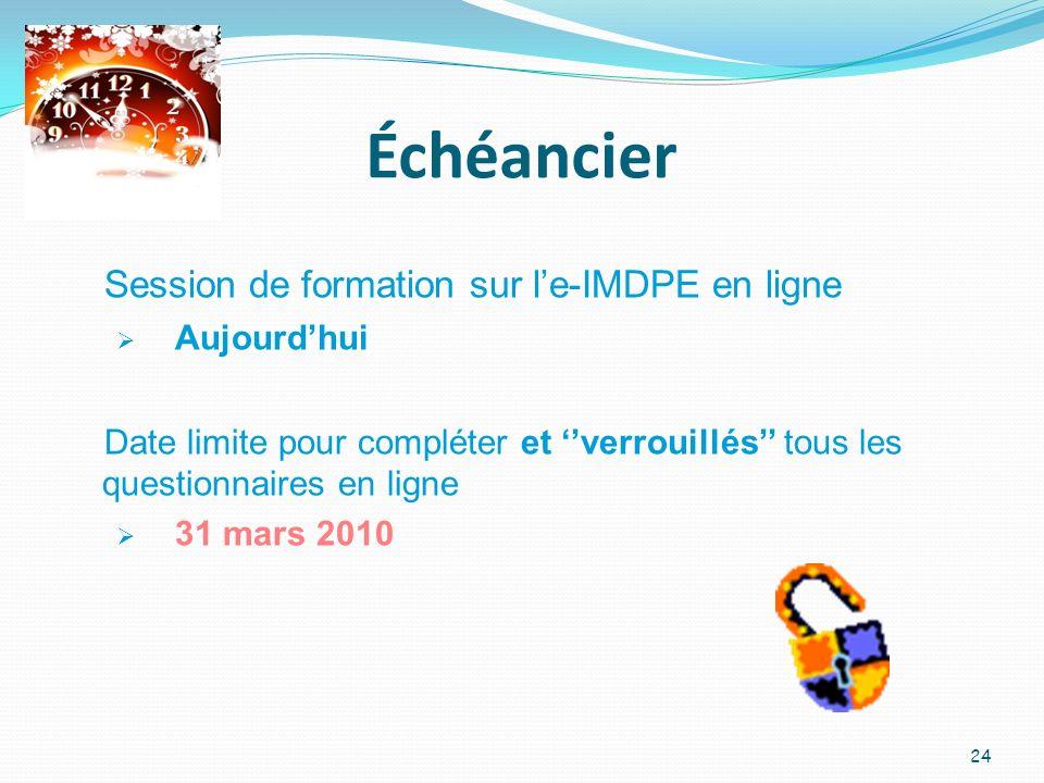 Votre trousse e-IMDPE 1.