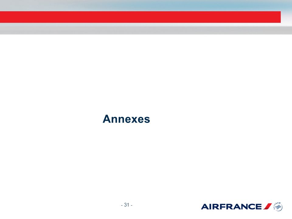 Annexes - 31 -