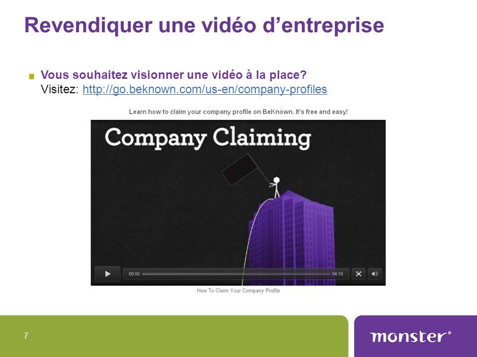 Revendiquer une vidéo dentreprise Vous souhaitez visionner une vidéo à la place? Visitez: http://go.beknown.com/us-en/company-profileshttp://go.beknow