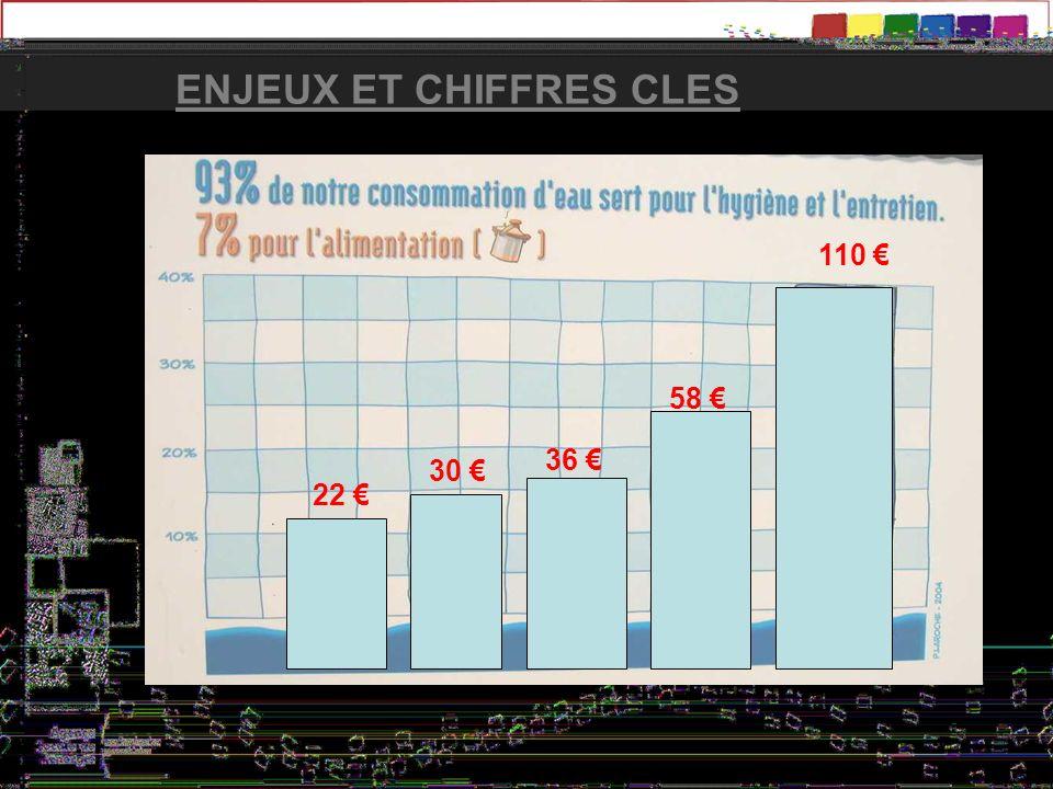 ENJEUX ET CHIFFRES CLES 110 58 36 30 22