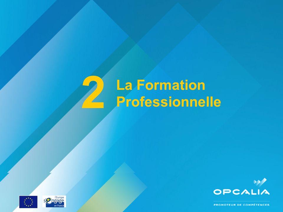 Enquête conjoncture 2010 Questionnaire 2 La Formation Professionnelle