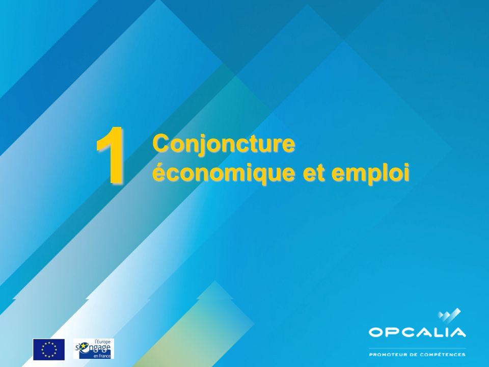 Enquête conjoncture 2010 Questionnaire 1 Conjoncture économique et emploi