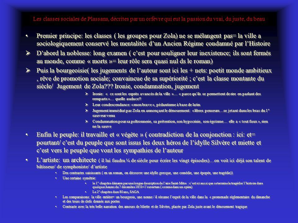 Zola et ses intentions dans la Préface naturelleDans la préface quil publie avec le 1° volume de son « Histoire naturelle dune famille sous le Second