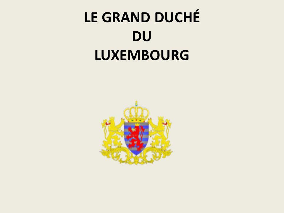 LE GRAND DUCHÉ DU LUXEMBOURG