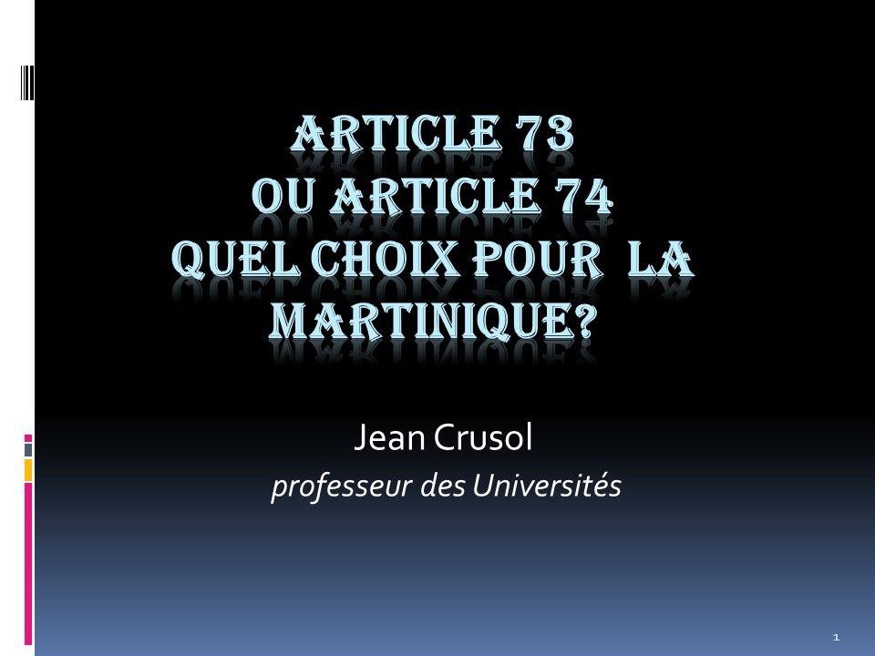 1 Jean Crusol professeur des Universités