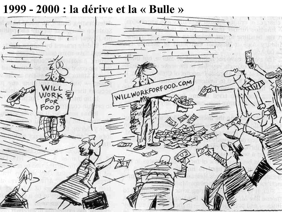 1999 - 2000 : la dérive et la « Bulle »