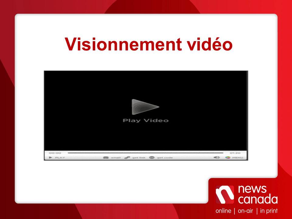 Visionnement vidéo