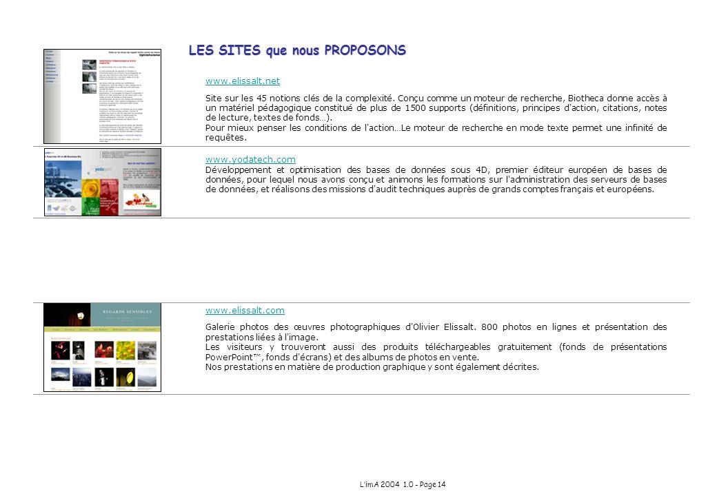 www.elissalt.net Site sur les 45 notions clés de la complexité. Conçu comme un moteur de recherche, Biotheca donne accès à un matériel pédagogique con