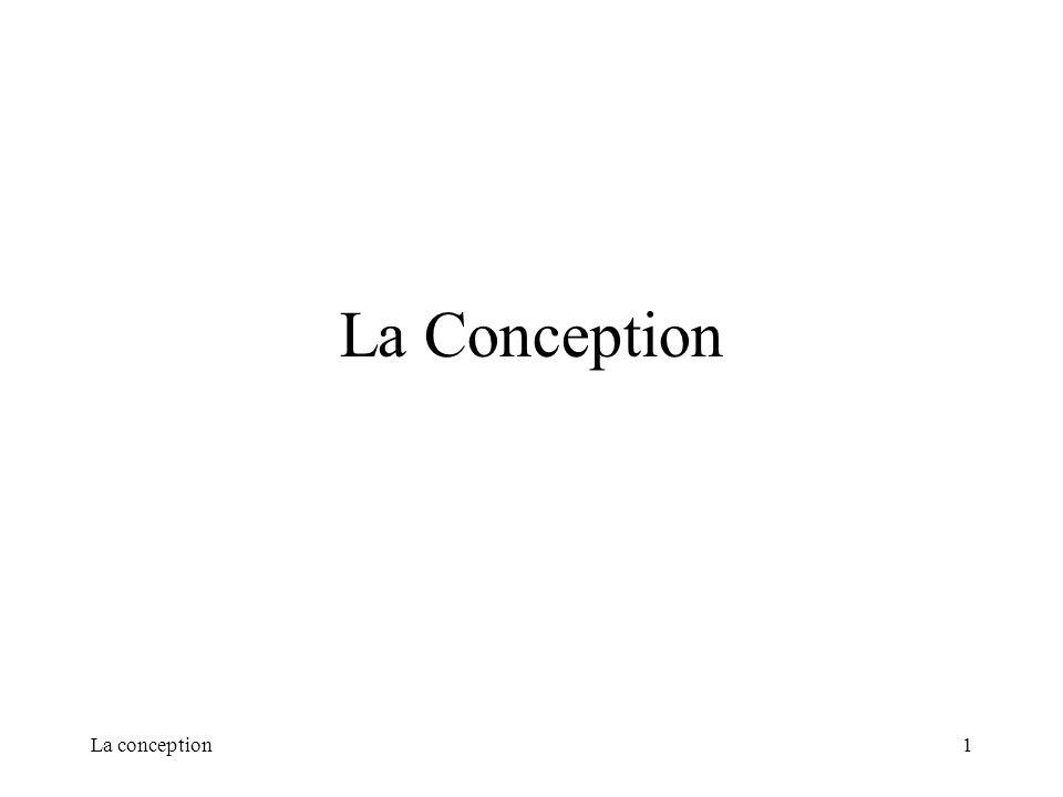 La conception1 La Conception