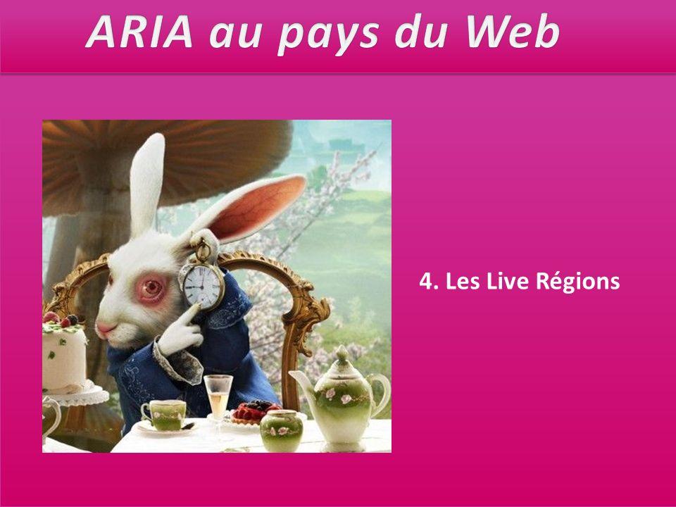 4. Les Live Régions