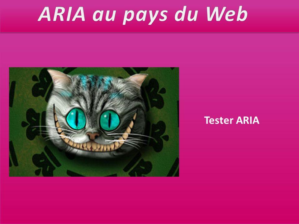 Tester ARIA