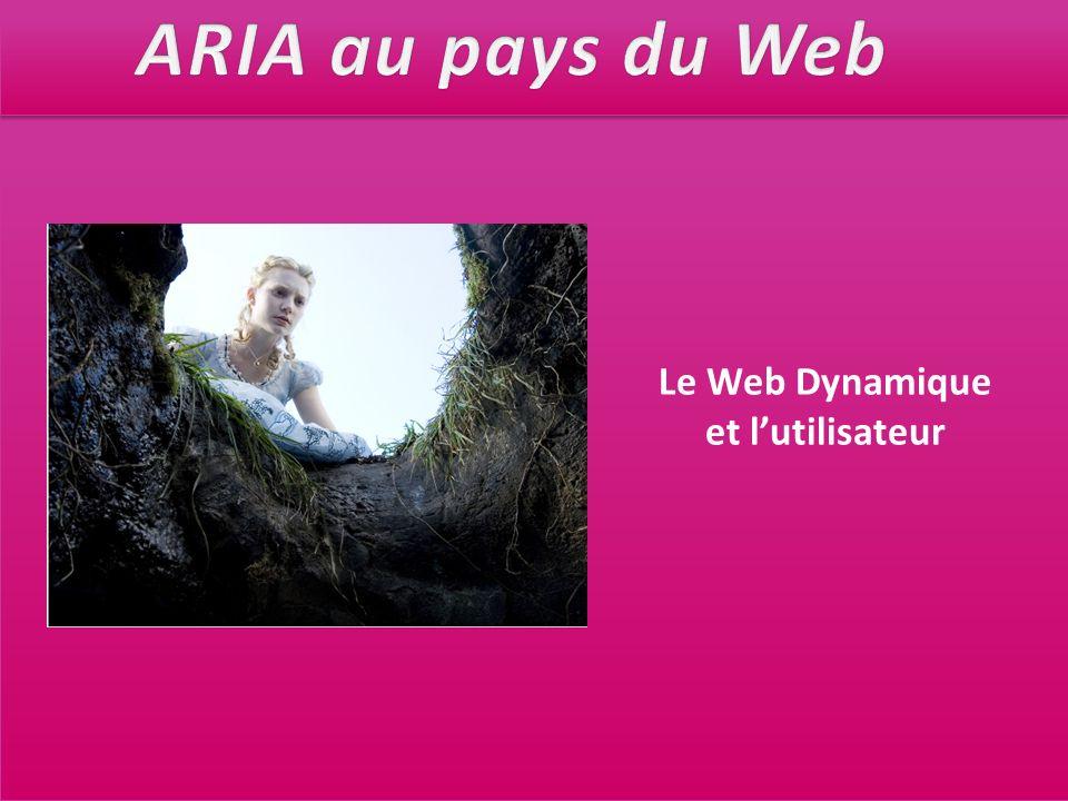 Le Web Dynamique et lutilisateur