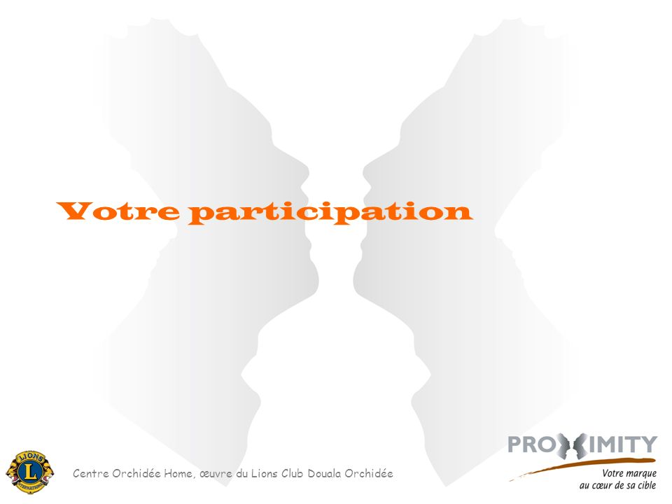 Centre Orchidée Home, œuvre du Lions Club Douala Orchidée Votre participation