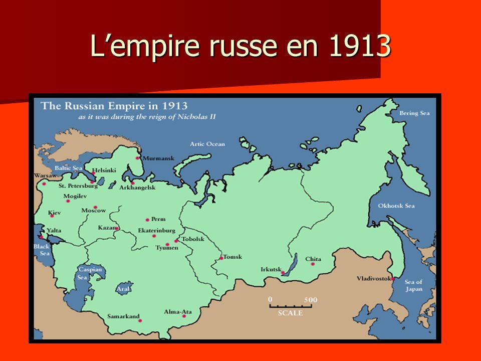 Lempire russe en 1913