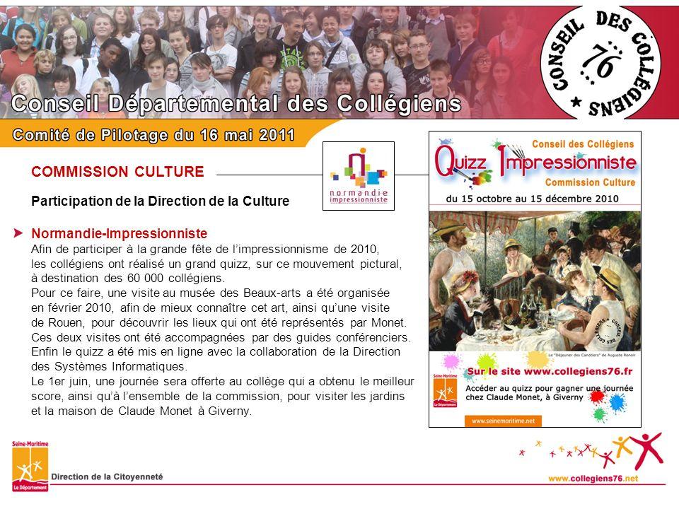 COMMISSION CULTURE Journées du Bel-âge Cette année, cest la commission Culture qui a assisté à la rencontre avec les personnes âgées, organisée le 2 février 2011 au Département, au cours du « Café des Ages » sur le thème des jeux dhier et daujourdhui.