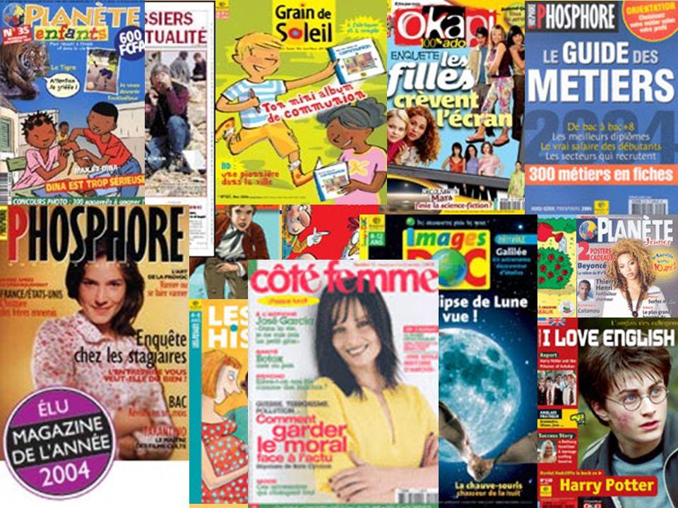 1-Enfants-Jeunesse-Famille 22 titres De Popi (1-3 ans) à Phosphore (15-25 ans ) ou encore Côté femme