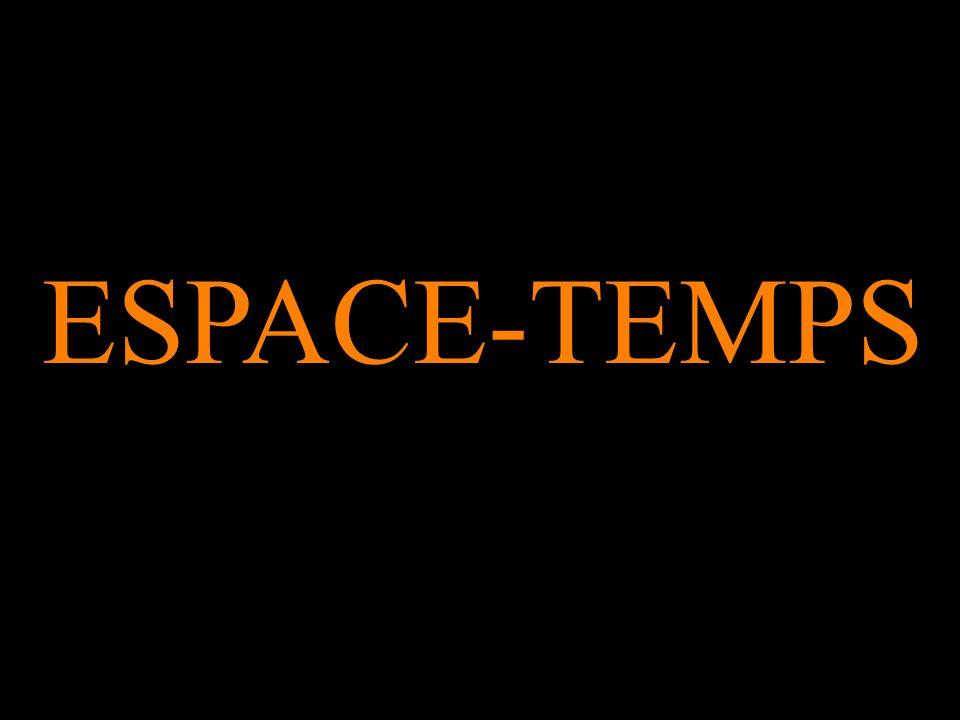 ESPACE-TEMPS